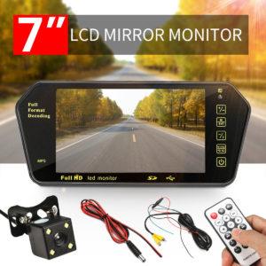 7 inch car rear view monitor