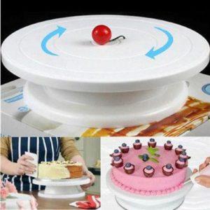 cake decorating tray
