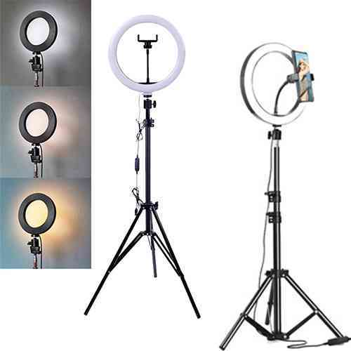 LED Ring Fill Light with stand