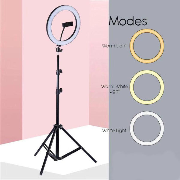 LED Ring Fill Light with tripod